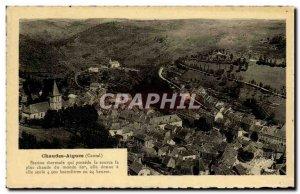 Cantal Auvergne Old Postcard Chaudes Aigues