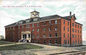 Ferry Hall Mens Dormitory Washington State University Pullman 1910c postcard