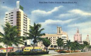 Hotel Row Miami Beach FL Unused