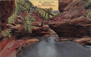 Wisconsin Dells Of The Wisconsin River Roods Glen Interior View