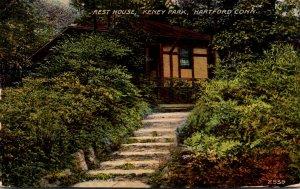 Connecticut Hartford Rest House In Keney Park 1912
