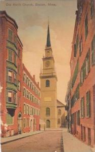 Massachustetts Boston Old North Church