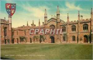 Postcard Modern Cambridge Corpus Christi College New Court