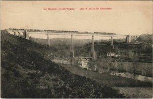 CPA Viaduc de Ribeyres FRANCE (1090820)