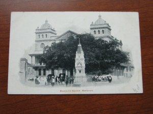 Barbados Postcard 1900-06 UDB Unused Beckwith Square