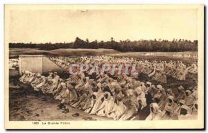 Old Postcard The Great Prayer Islan