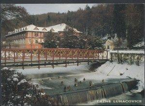 Czech Republic Postcard - Lazne Luhacovice     RR1773