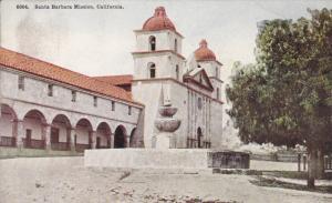 CALIFORNIA; Santa Barbara Mission, 00-10s
