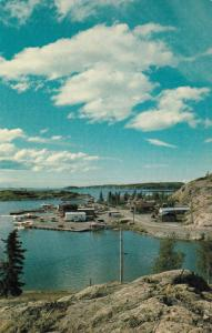 Yellowknife  , NWT , Canada , 40-60s ; Air Charter Float Base, Great Slave Lake