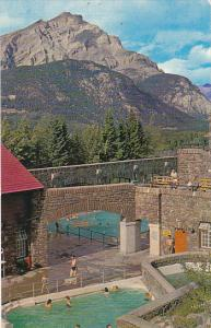 Canada Government Owned Cave and Basin Swimming Pool Banff Alberta