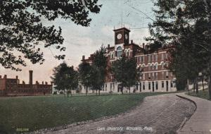 WORCESTER, Massachusetts; Clark University, PU-1909