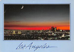 USA Los Angeles The Nations Western Empire Half Moon Landscape