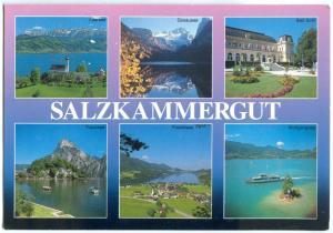 Austria, SALZKAMMERGUT, 2002 used Postcard