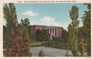 Tennessee Milligan College Boys' Dormiotry