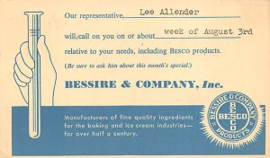Bessire & Company Inc. Advertising 1953
