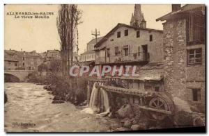 Postcard Old water mill Allevard les Bains The old mill