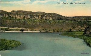 C-1910 Castle Lake WASHINGTON #701 Boughton Robbins postcard 3723