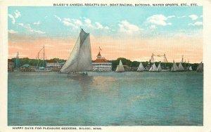 MS, Biloxi, Mississippi, Annual Regatta Day, Boat Racing, Tichnor No. A-48551
