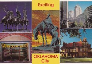 Oklahoma City Exciting 1889 To 1989