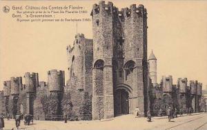 Belgium Gent Gand Le Chateau de Flandre