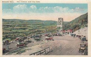 3 PCs ; MOHAWK TRAIL , Massachusetts , 1910s ; Hair Pin Trail