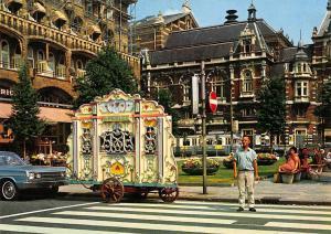 Netherlands Amsterdam Barrel Organ Draaiorgel Orgue de Barbarie Tram Car