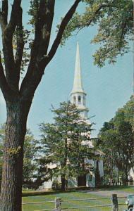 Massachusetts Cape Cod An Old Colonial Church 1960