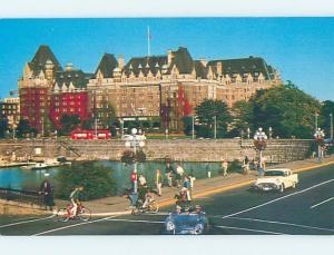 Unused Pre-1980 HOTEL SCENE Victoria - Vancouver Island BC B0748