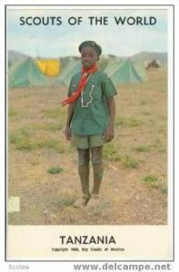 Boy Scouts of the World, TANZANIA SCOUTS, 1968