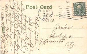 Storm on Lake Erie Angola, New York Postcard