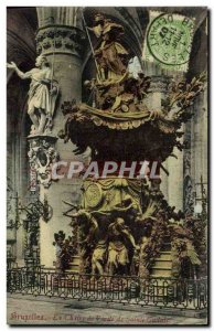 Old Postcard Brussels Chaixe The Truth of Sainte Gudule
