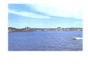 Dartmouth Skyline, Motorboat, Nova Scotia, John Urquhart