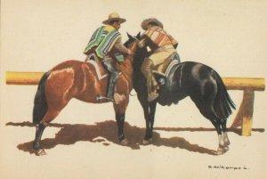 CARLOS DEL CAMPO, La Topeadura , 1930-50s