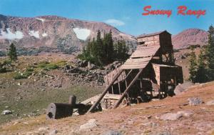 Snowy Range Wyoming Old Frontier Mining Ruins