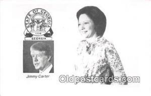 Georgia, USA Postcard Jimy Carter