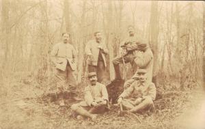 Military - Real Photo Postcard Group Army WW1 02.77