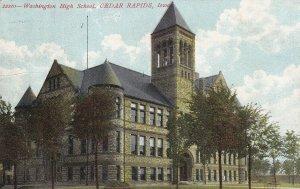 CEDAR RAPIDS, Iowa, PU-1909; Washington High School