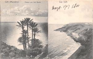 SAFFI MOROKKO MOROCCO AFRICA SIDI BUSID~CAP SAFFI~F MAWICK PUBL POSTCARD c1907