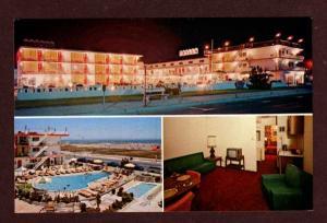 NJ Trylon Motel NORTH WILDWOOD NEW JERSEY Postcard PC