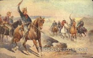 Artist Frank Feller Western Cowboy, Cowgirl Postcard Postcards  Frank Feller