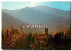 Modern Postcard Saint Michel Cuxa As for the autumn morning wakes the Romanes...