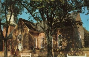 Postcard Bruton Parish Church Williamsburg Virginia
