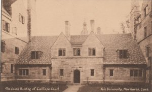 NEW HAVEN , CT , 1930s ; YALE ; Calliope Court , South Building