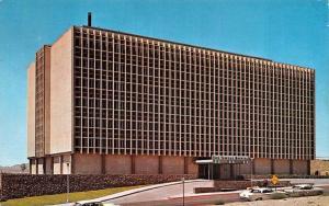 EL PASO, TX Texas      SUN TOWERS HOSPITAL   50's Cars     Chrome Postcard
