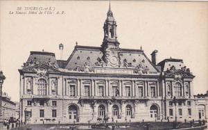 TOURS, Indre Et Loire, France, 1900-1910´s; Le Nouvel Hotel De Ville