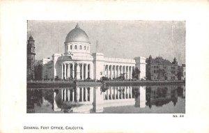 General Post Office Calcutta India Unused