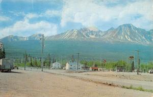 Haines Junction Alaska Yukon Mile Scenic View Vintage Postcard K58427