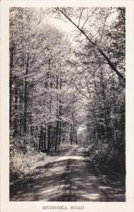 RP: MUSKOKA Road , Ontario , Canada , 1930-40s ; Thatcher Studio , Bracebridg...