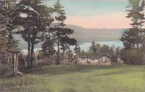 New Hampshire East Wolfboro Lake Wetworth Frpm Cliff Cabin at Birchmont Alber...