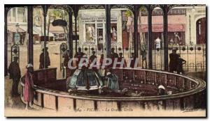 Old Postcard Vichy La Grande Grille
